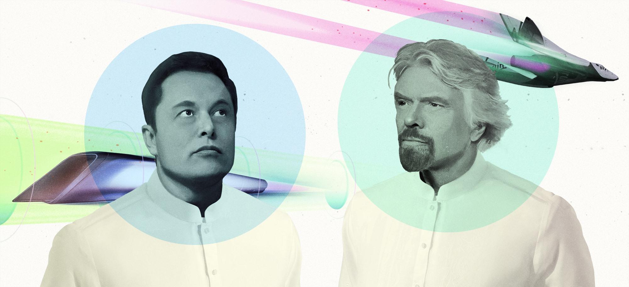 Ông Richard Branson xác nhận tỷ phú Elon Musk cũng đã đặt chỗ trên chuyến bay của công ty ông. Ảnh: CNN