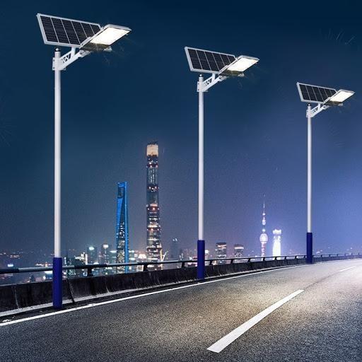 Đèn đường năng lượng mặt trời sẽ không sáng bằng đèn điện.