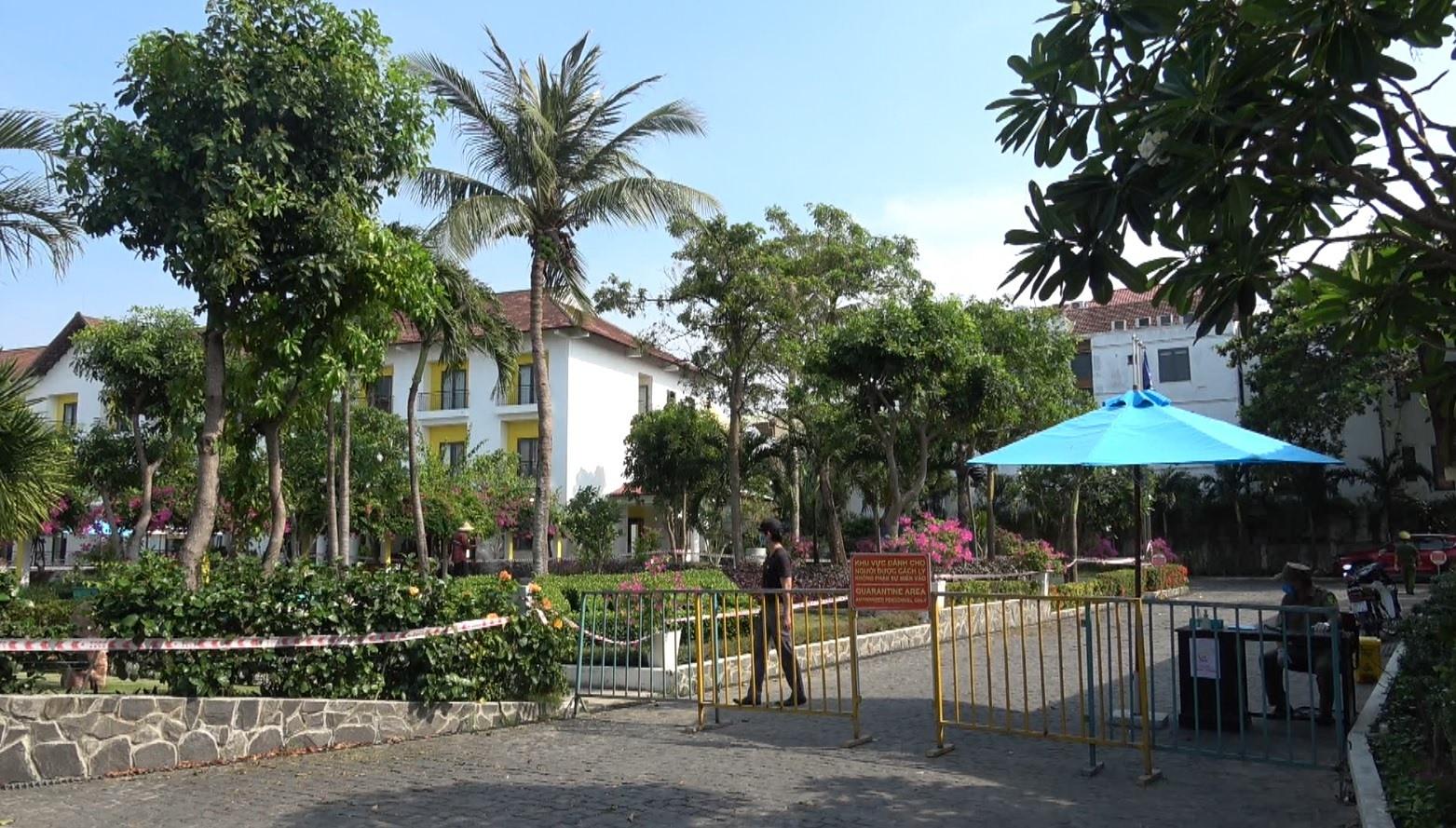 Một khách sạn tổ chức cách ly tập trung có thu phí ở Hội An.