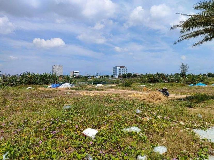 Diện tích đất thu hồi ở khu đô thị số 6. Ảnh: H.P