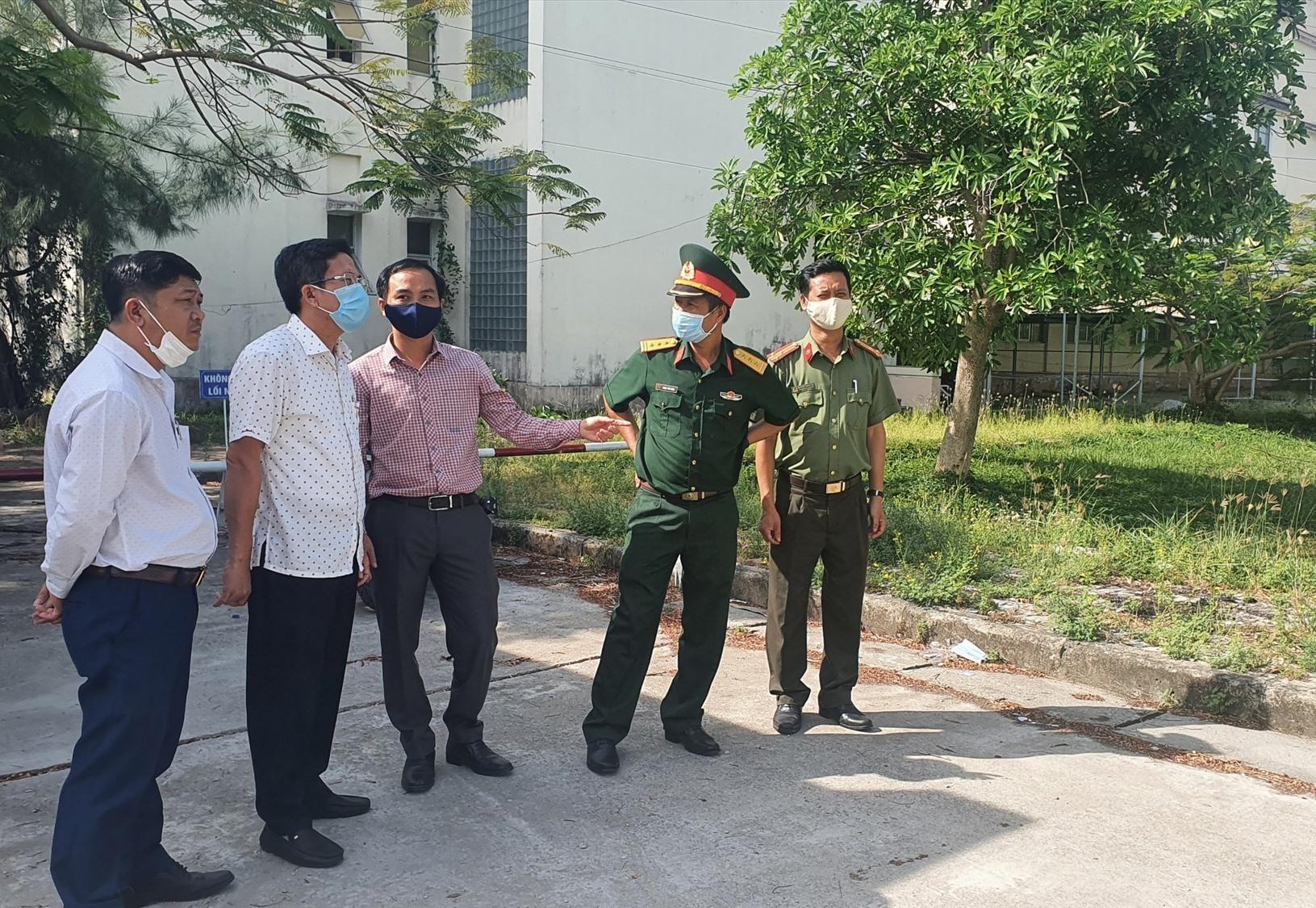 TP. Tam Kỳ hiện đã sẵn sàng các khu CLTT để đón người về từ TP.Hồ Chí Minh. Ảnh; H.L