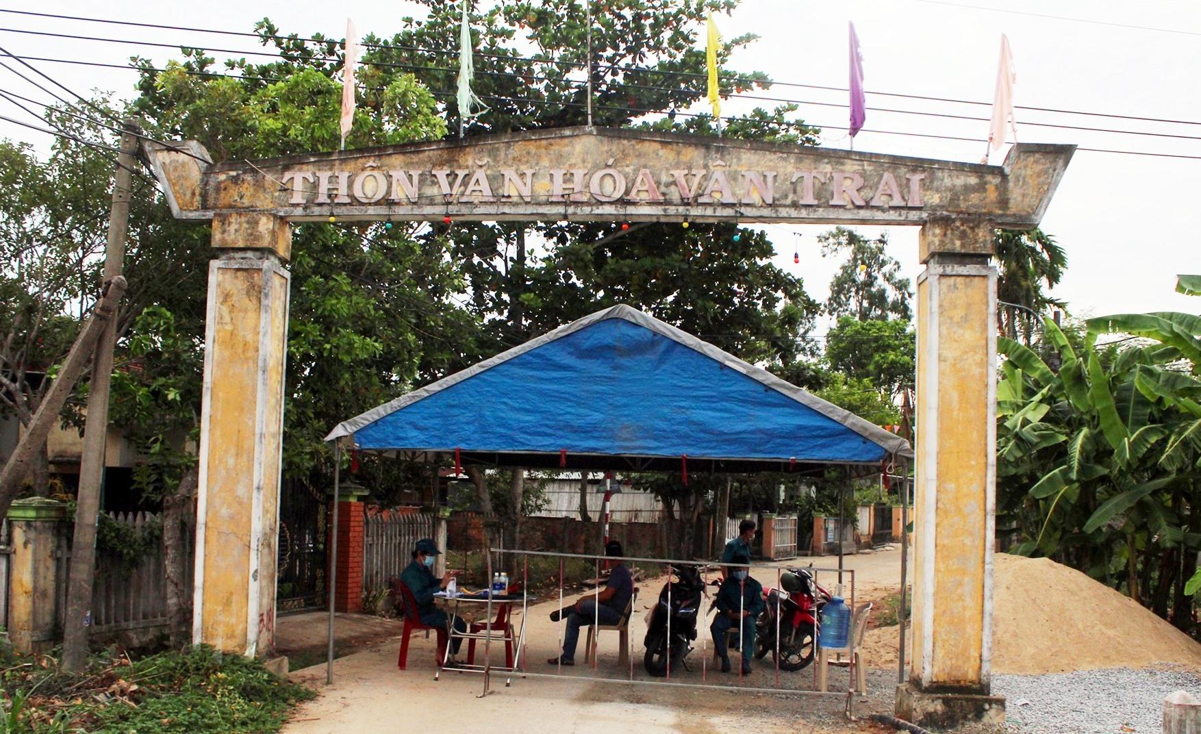 kết thúc phong tỏa tạm thời khu dân cư tổ 4 và tổ 5 của thôn Vân Trai (xã Tam Hiệp)