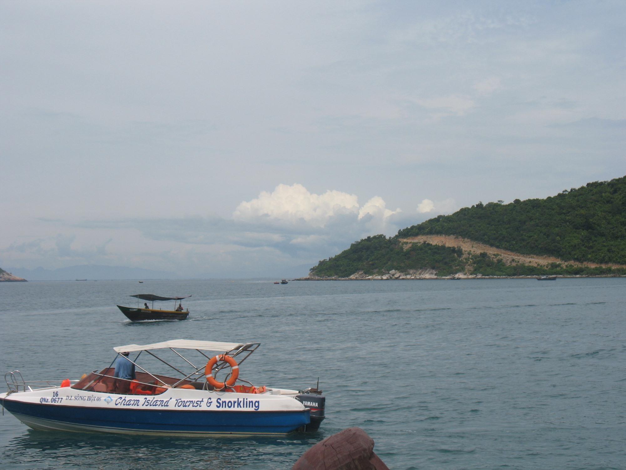 Hàn Quốc tài trợ dự án nhằm quản lý và phát triển nguồn lợi thủy hải sản ven bờ tại xã đảo Tân Hiệp (Cù Lao Chàm). Ảnh: C.N