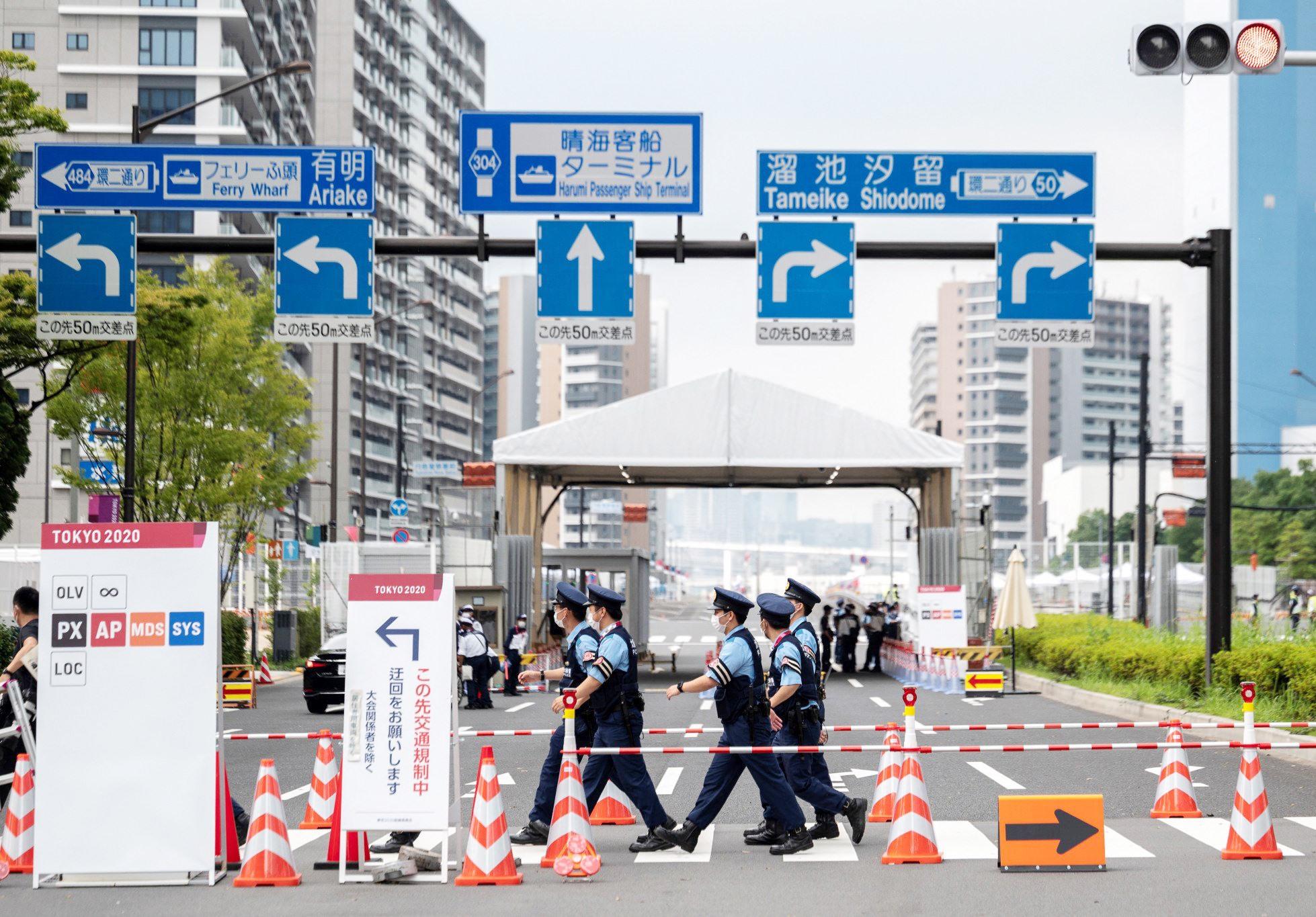 Làng vận động viên Olympic Tokyo 2020 được kiểm soát rất nghiêm ngặt trong bối cảnh đại dịch Covid-19. Ảnh: Gettyimages