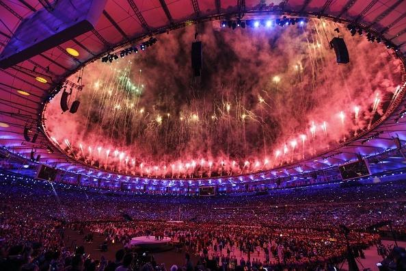 Màn trình diễn pháo hoa chào mừng Olympic Tokyo 2020