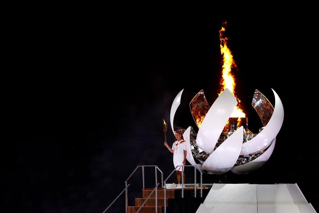 Thắp sáng ngọn lửa Olympic