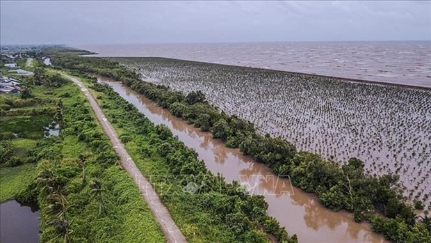 Erosion is a threat to the Mekong Delta (Photo: VNA)