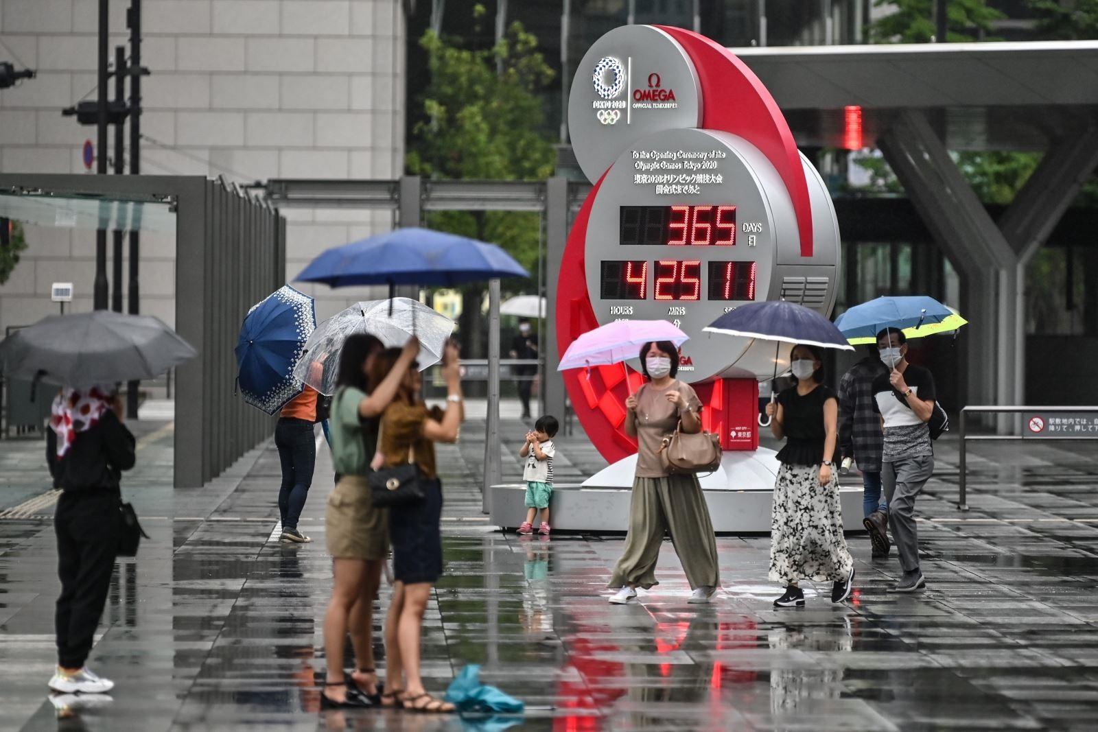 Hãng đồng hồ nổi tiếng Omega mang đến nhiều công nghệ mới tại Olympic Tokyo 2020. Ảnh: AFP