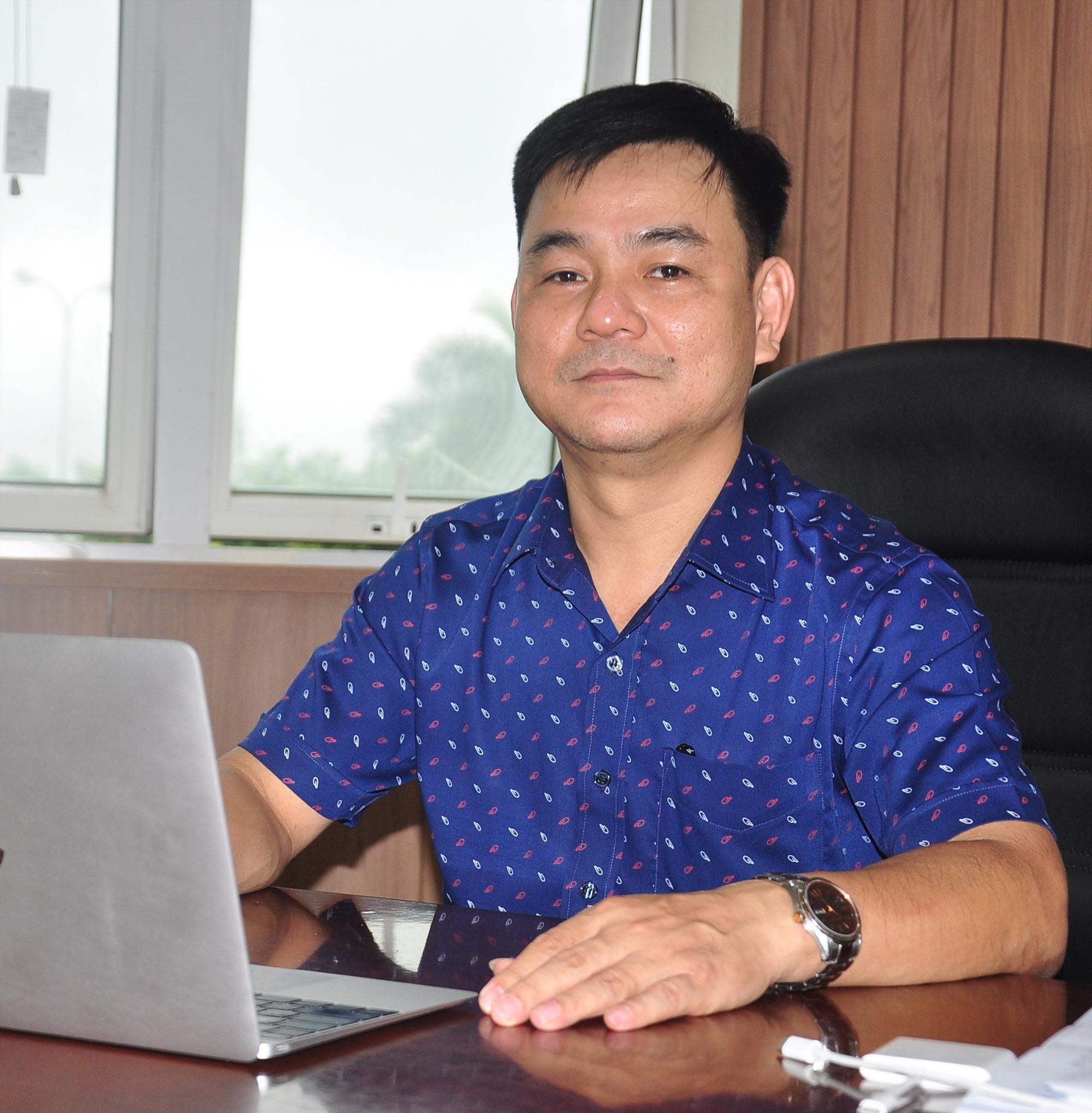 Ông Phạm Hồng Quảng - Giám đốc Sở Thông tin - truyền thông (TT-TT)