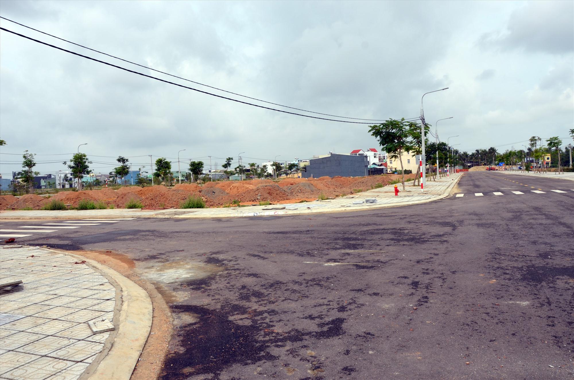 Một khu tái định cư, dân cư tại phường An Phú, TP. Tam Kỳ. Ảnh: H.P