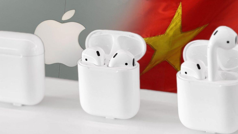 Từ giữa năm 2020, Apple đã tuyên bố sẽ chuyển sản xuất AirPod Pro từ Trung Quốc sang Việt Nam. Ảnh: Reuters
