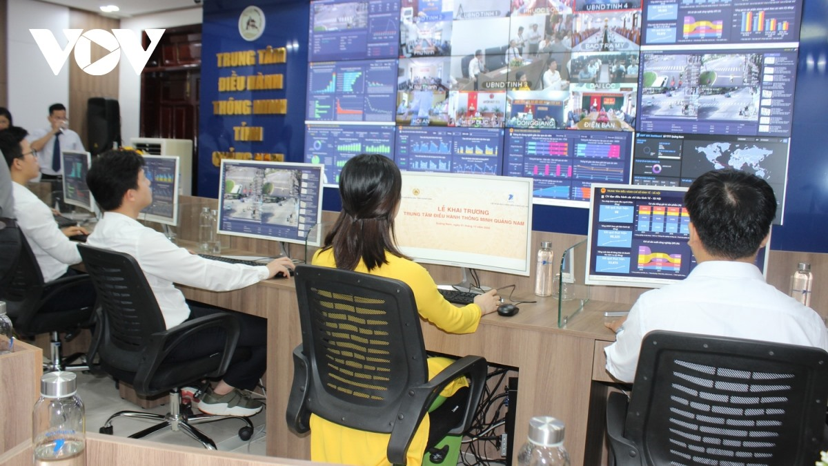 Quang Nam Intelligent Operations Centre