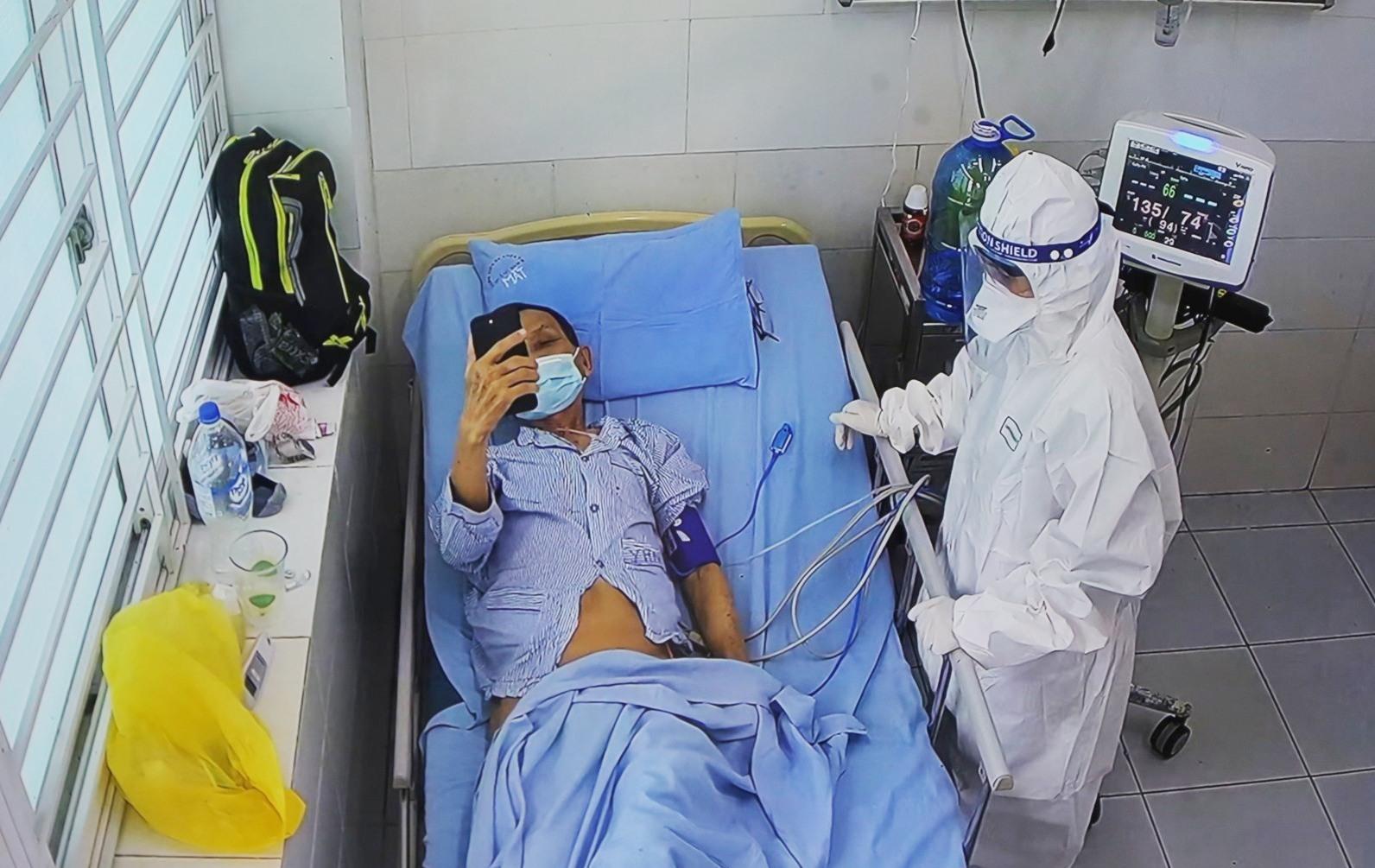 BV Đa khoa Trung ương Quảng Nam là nơi điều trị bệnh nhân Covid-19 thể nặng của Quảng Nam. Ảnh; Đ.Đ