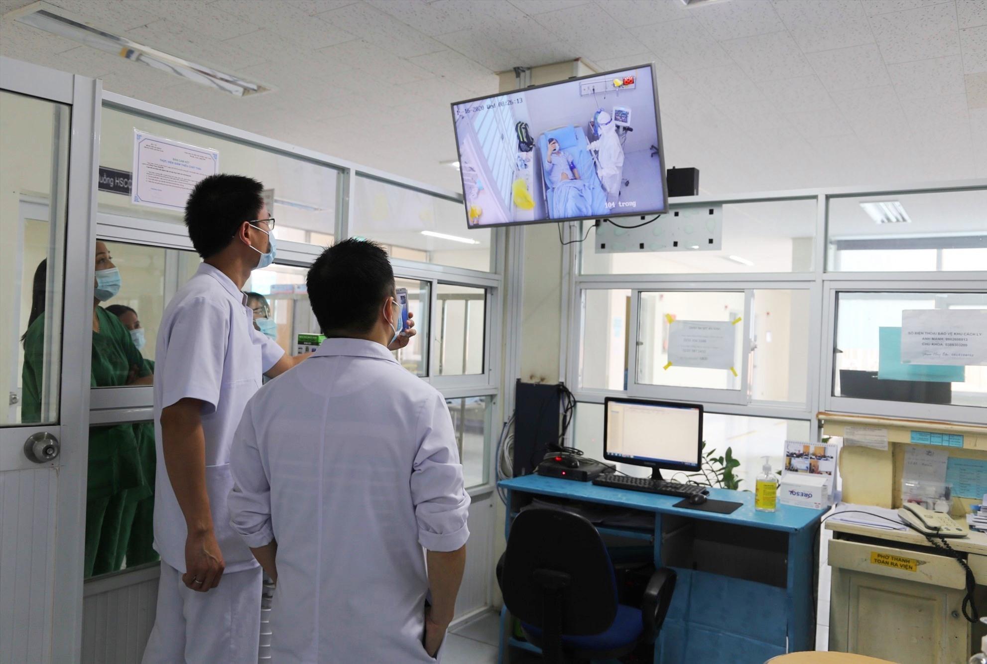 Theo quy định, BV Đa khoa Trung ương Quảng Nam là nơi điều trị bệnh nhân Covid-19 thể nặng của Quảng Nam. Ảnh: Đoàn Đạo