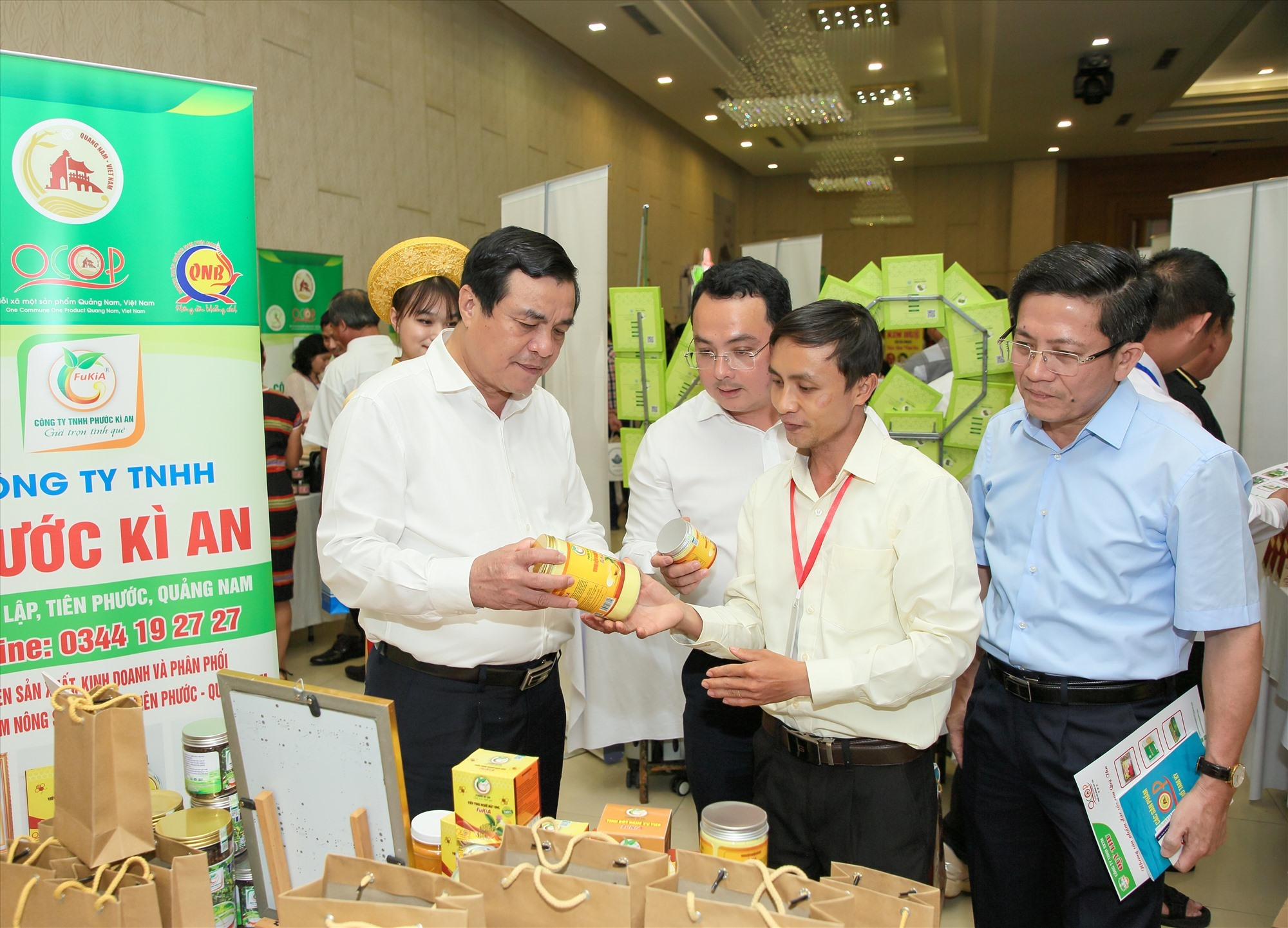 Start-up and OCOP products of Quang Nam businesses
