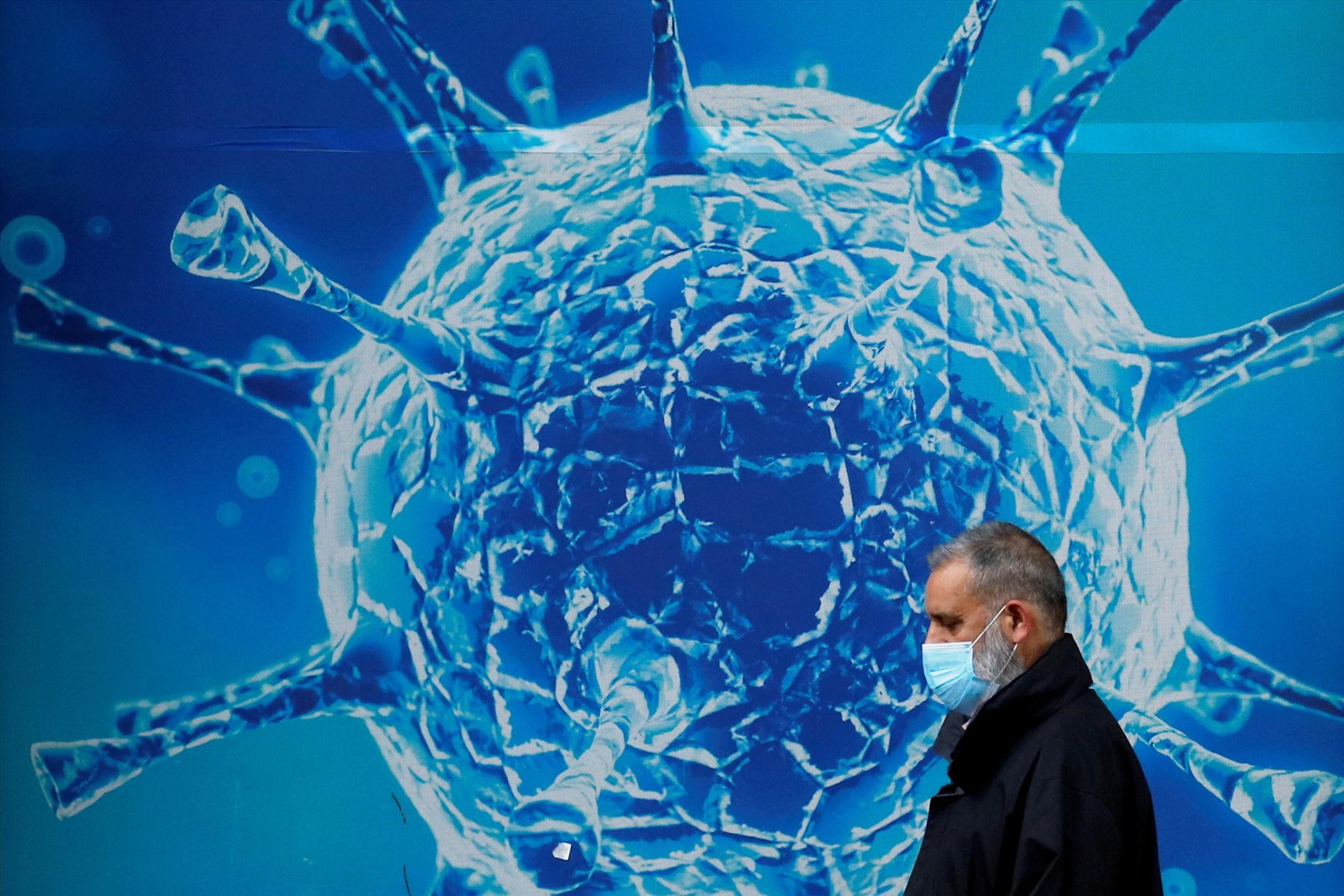 Biến thể Delta của vi rút corona hiện được tìm thấy tại khoảng 100 quốc gia. Ảnh: Reuters