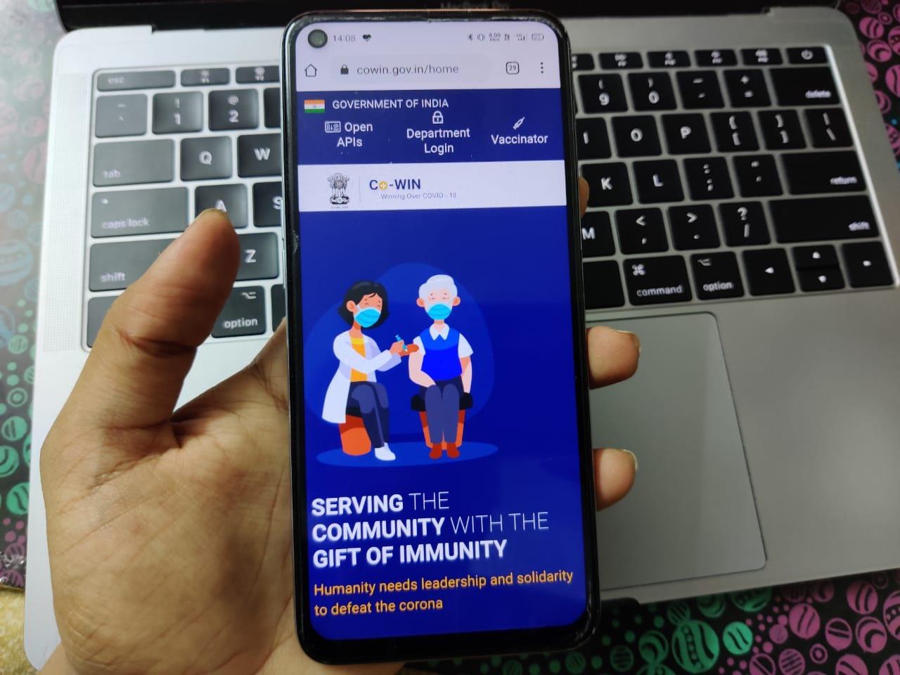 Phần mềm CoWin giúp Ấn Độ tăng tốc tiêm chủng một cách minh bạch hơn. Ảnh: medianama
