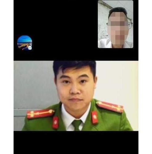 """Anh T. chụp lại cuộc trò chuyện với """"cán bộ"""" tự xưng là Thượng úy Bùi Quang Hải. Ảnh. Đ.T."""