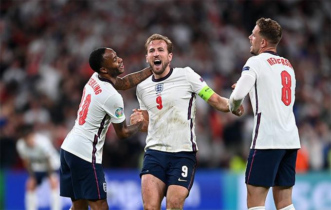 Đánh bại Đan Mạch, đội tuyển Anh gặp đội tuyển Ý trong trận chung kết vào ngày 12.7.https://bongdaplus.vn/