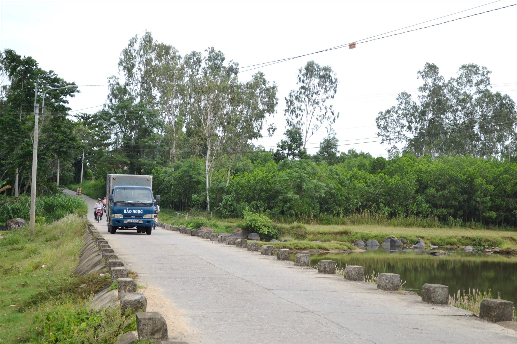 Các tuyến ĐH trên địa bàn Quế Sơn chiếm vụ tai nạn giao thông nghiêm trọng. Ảnh: CT