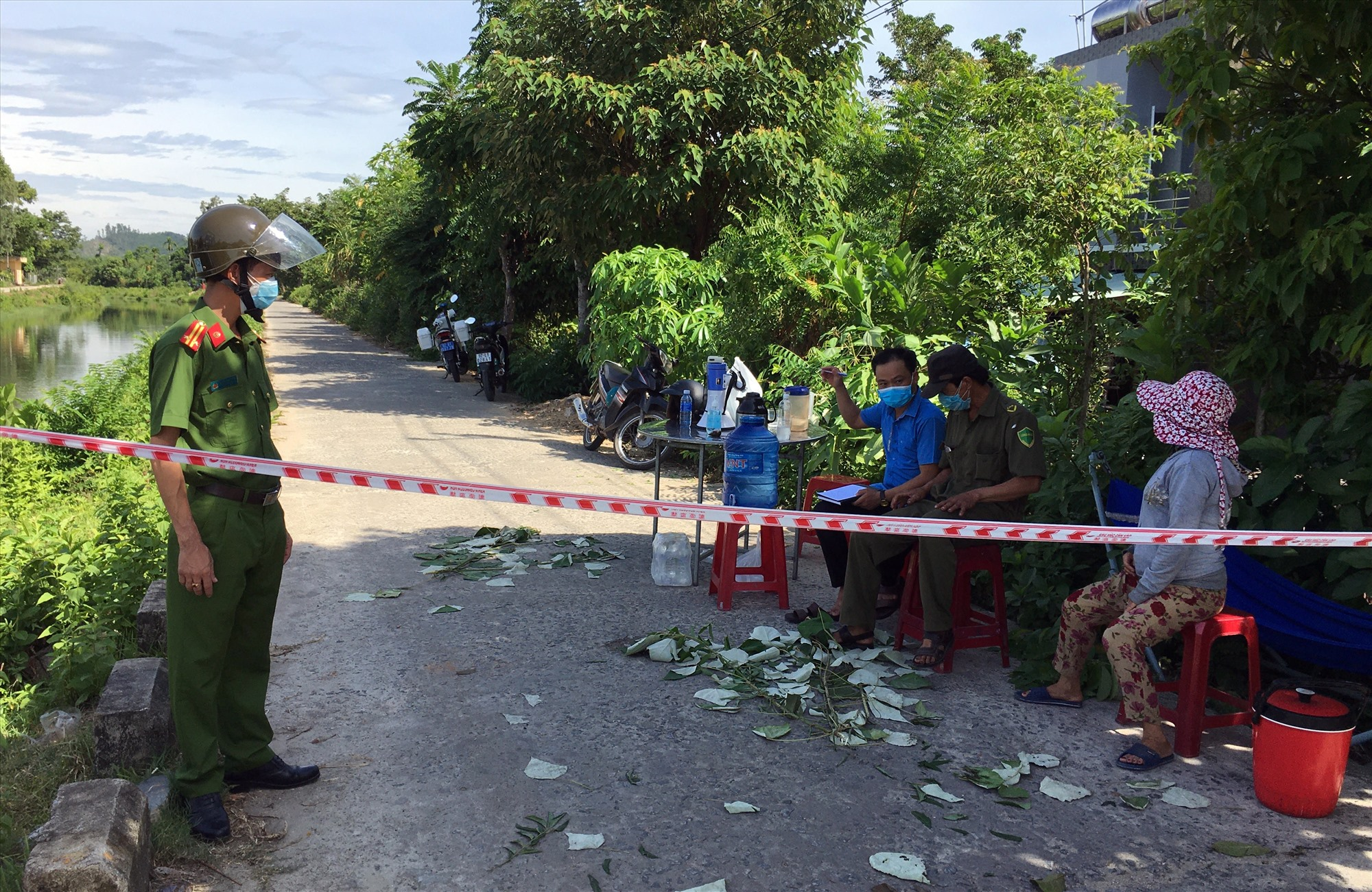 Phú Ninh phong tỏa 32 hộ dân của 2 xã Tam Thái và Tam Dân.