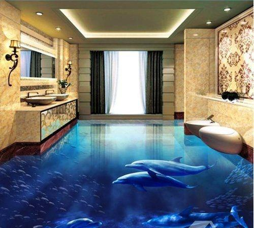 Thi công sơn Epoxy dành cho phòng tắm.