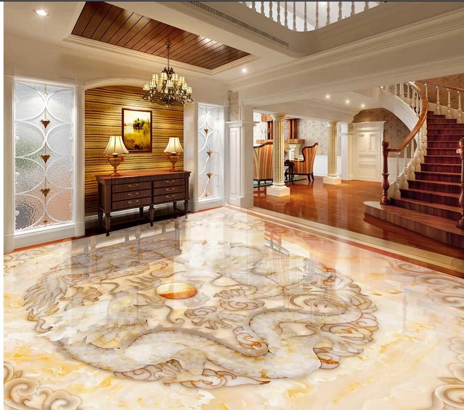 Sàn 3D dành cho sảnh, hành lang và văn phòng.