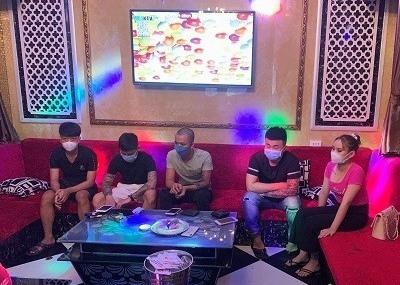 Một số đối tượng tụ tập hát karaoke, sử dụng trái phép chất ma túy tại Karaoke Luxury