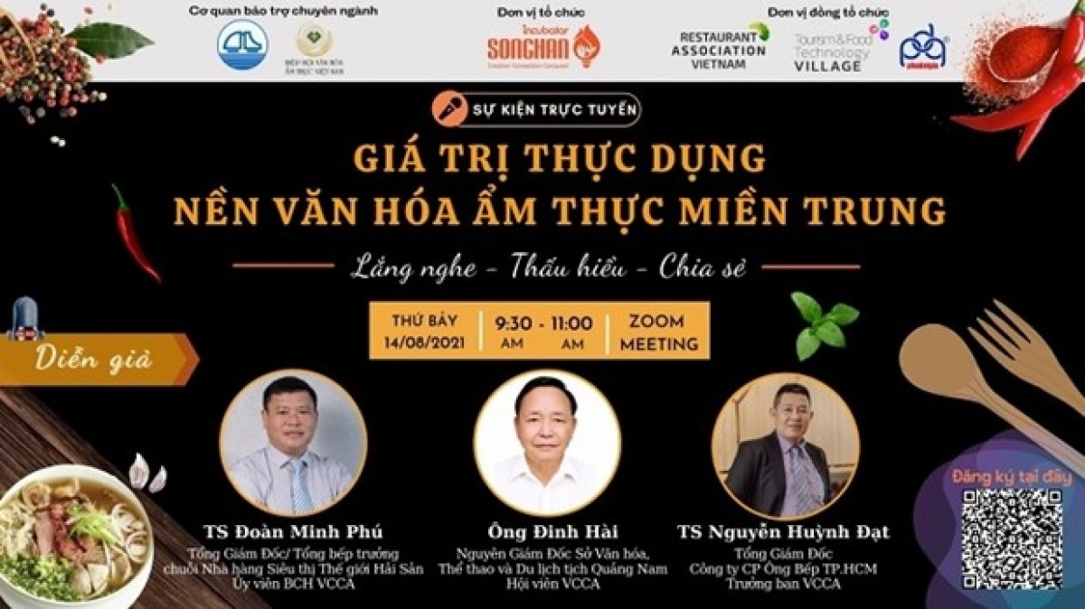 An online programme will be held on August 14 to promote cuisine of Vietnam's central region