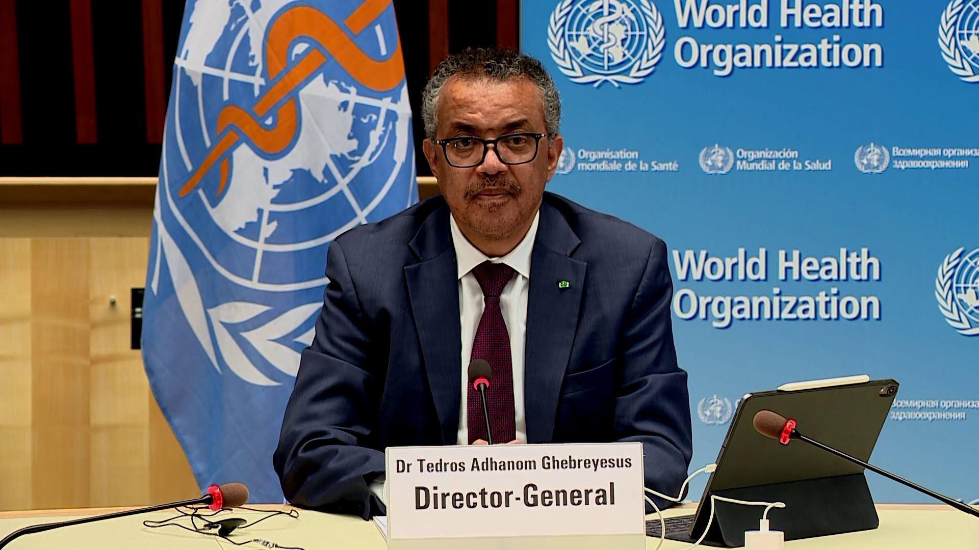 Tổng Giám đốc WHO Tedros Adhanom Ghebreyesus. Ảnh: thenewsmarket.