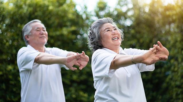 Sau 10 tuần với 2-3 lần giãn cơ một tuần, người cao tuổi có khả năng vận động cột sống tốt hơn, tăng khả năng uốn cong hông và dáng đi chuẩn hơn