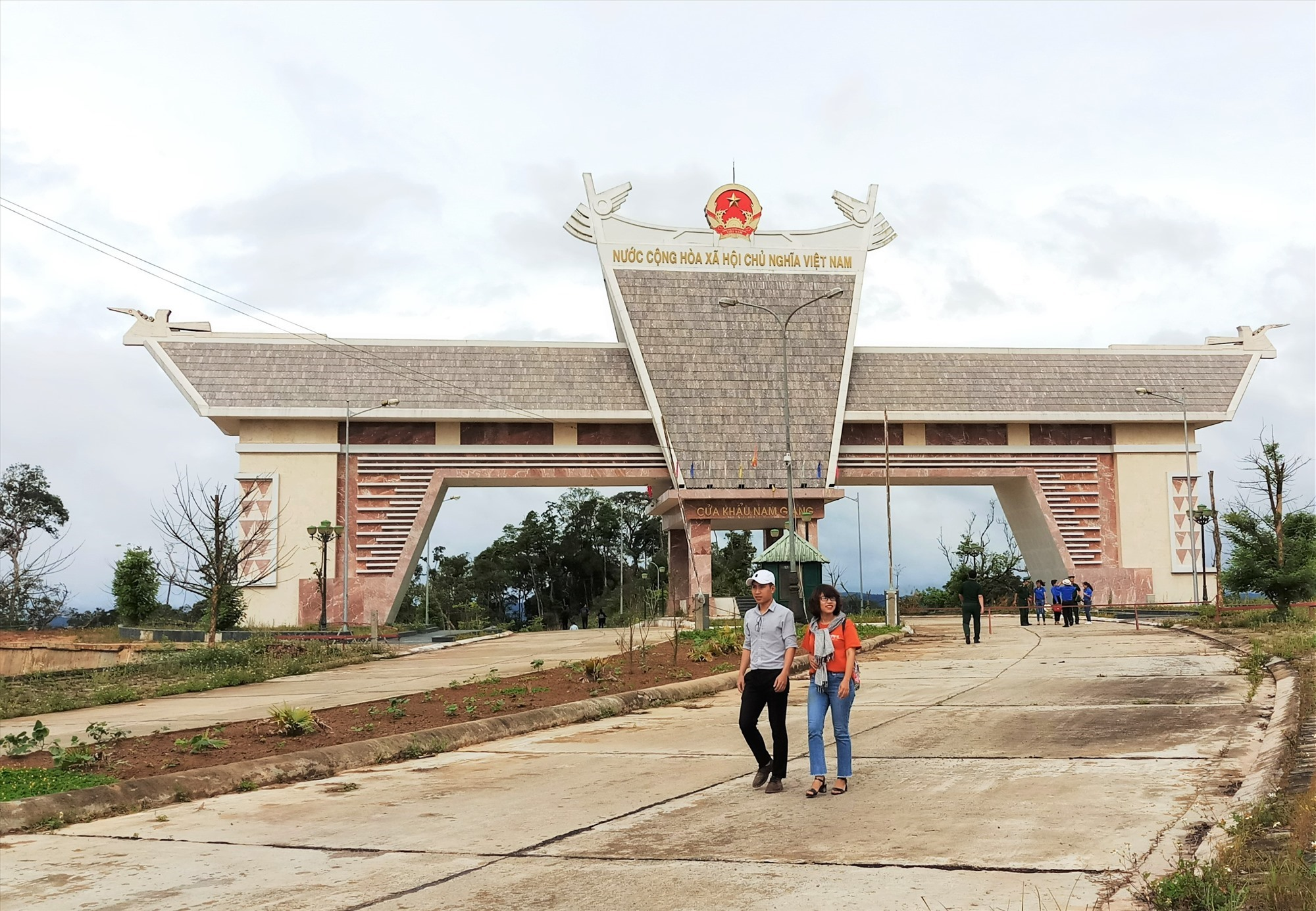Nam Giang - Dak Ta-Ook international border gate
