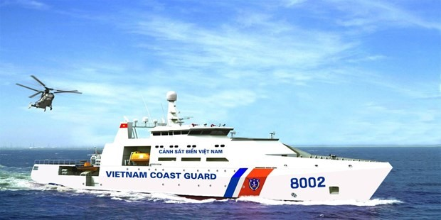 Vietnam Coast Guard ship (Photo: canhsatbien.vn)