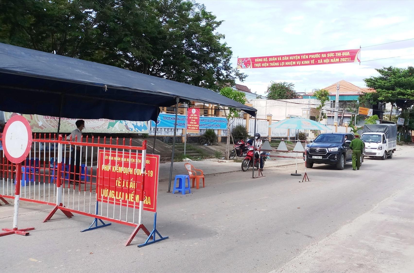 Tiên Phước kết thúc thực hiện giãn cách xã hội theo Chỉ thị 16 của Thủ tướng Chính phủ