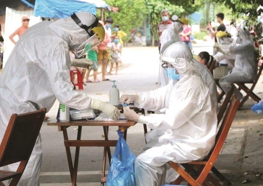 Các bệnh viện, khu cách ly đang rà soát lại quy trình tránh nhiễm khuẩn.Ảnh: X.H