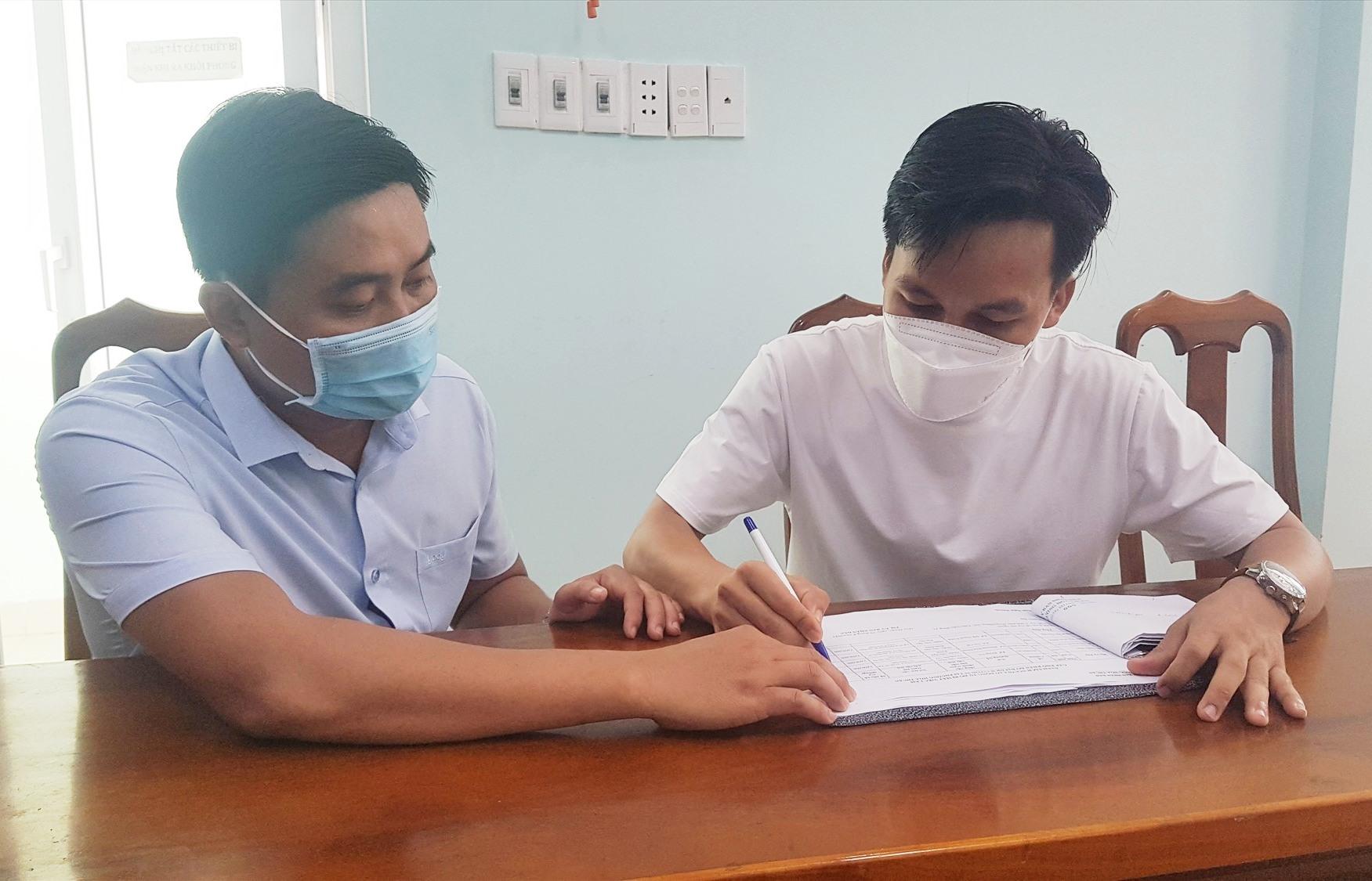 Chi trả hỗ trợ cho lao động tự do tại phường Hòa Thuận