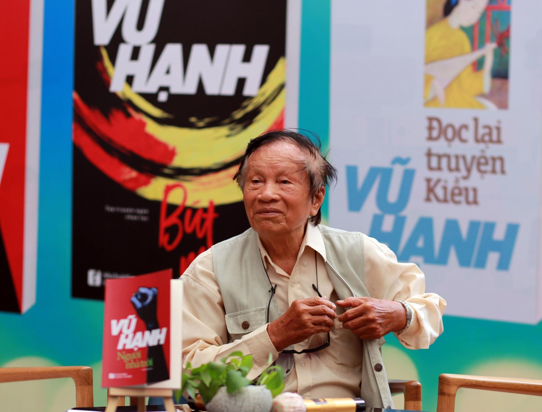 Nhà văn Vũ Hạnh lúc sinh thời.