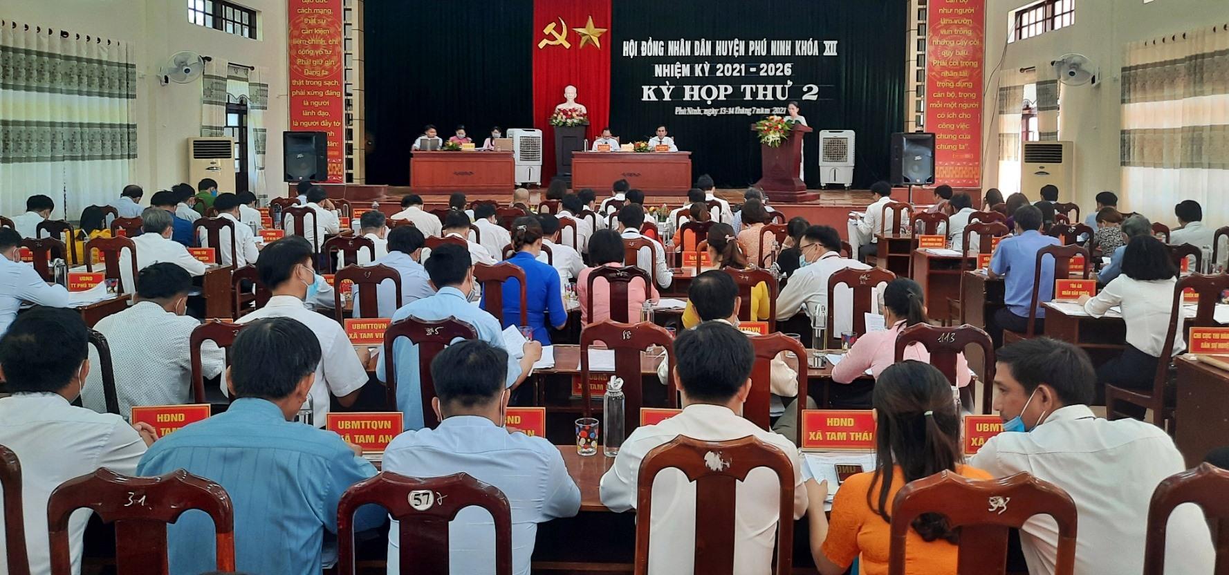 Hoạt động giám sát của Thường trực HĐND huyện Phú Ninh được thực hiện liên tục, chất lượng. Ảnh: Đ.C