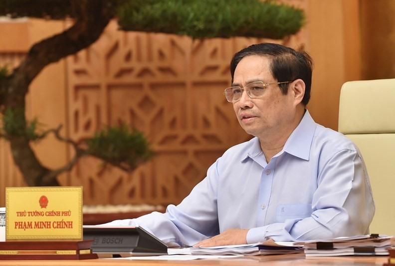 Thủ tướng Chính phủ Phạm Minh Chính được phân công làm Trưởng ban Chỉ đạo quốc gia phòng chống dịch Covid-19;