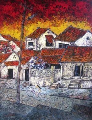 Tranh của họa sĩ Phan Ngọc Minh.