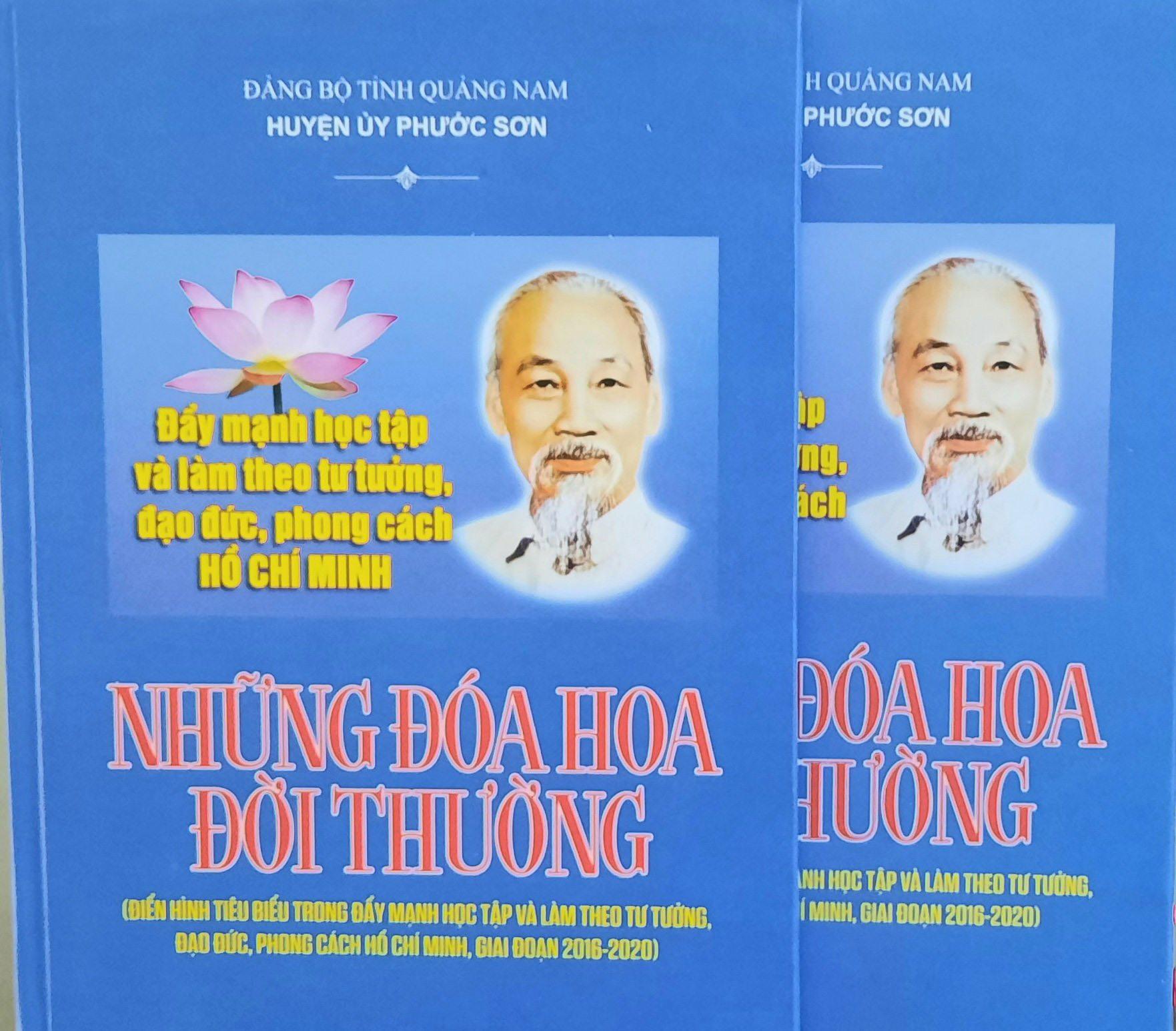 Tập sách tổng hợp những thành tựu nổi bật, các gương điển hình tiêu biểu về thực hiện Chỉ thị 05 trên địa bàn huyện Phước sơn giai đoạn 2016 - 2020.