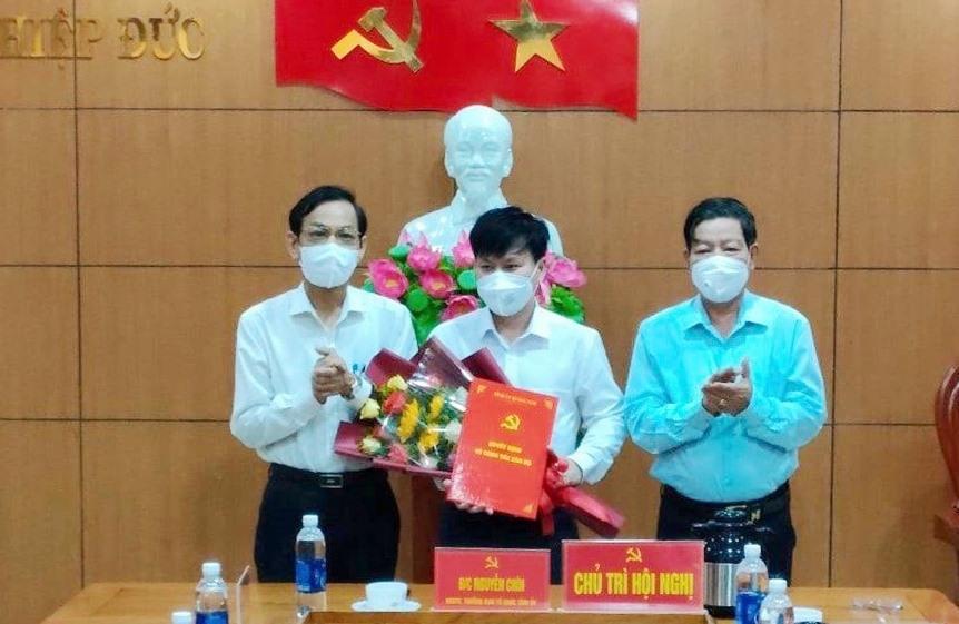 Trưởng ban Tổ chức Tỉnh ủy Nguyễn Chín