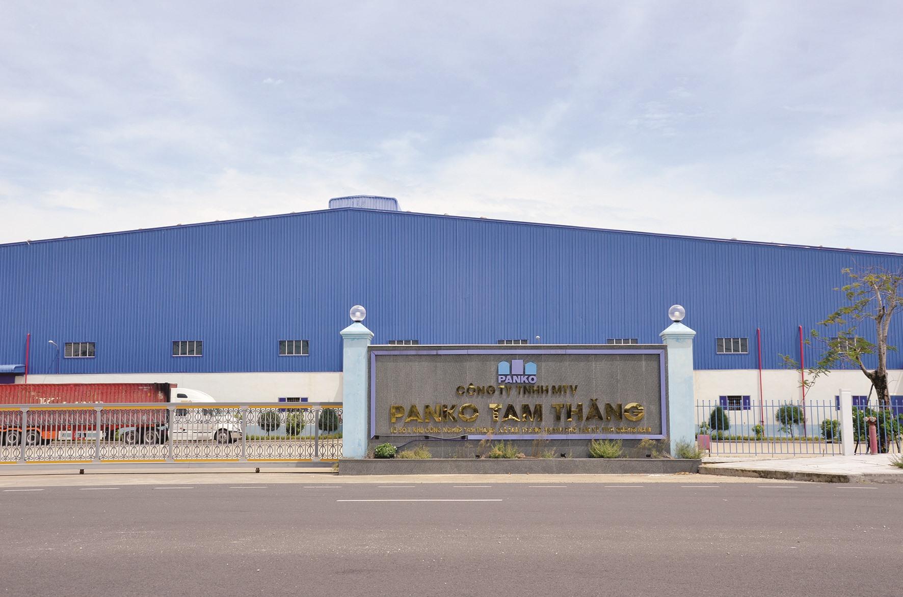 Cảnh im ắng trong mùa dịch tại Khu công nghiệp Tam Thăng. Ảnh: H.P