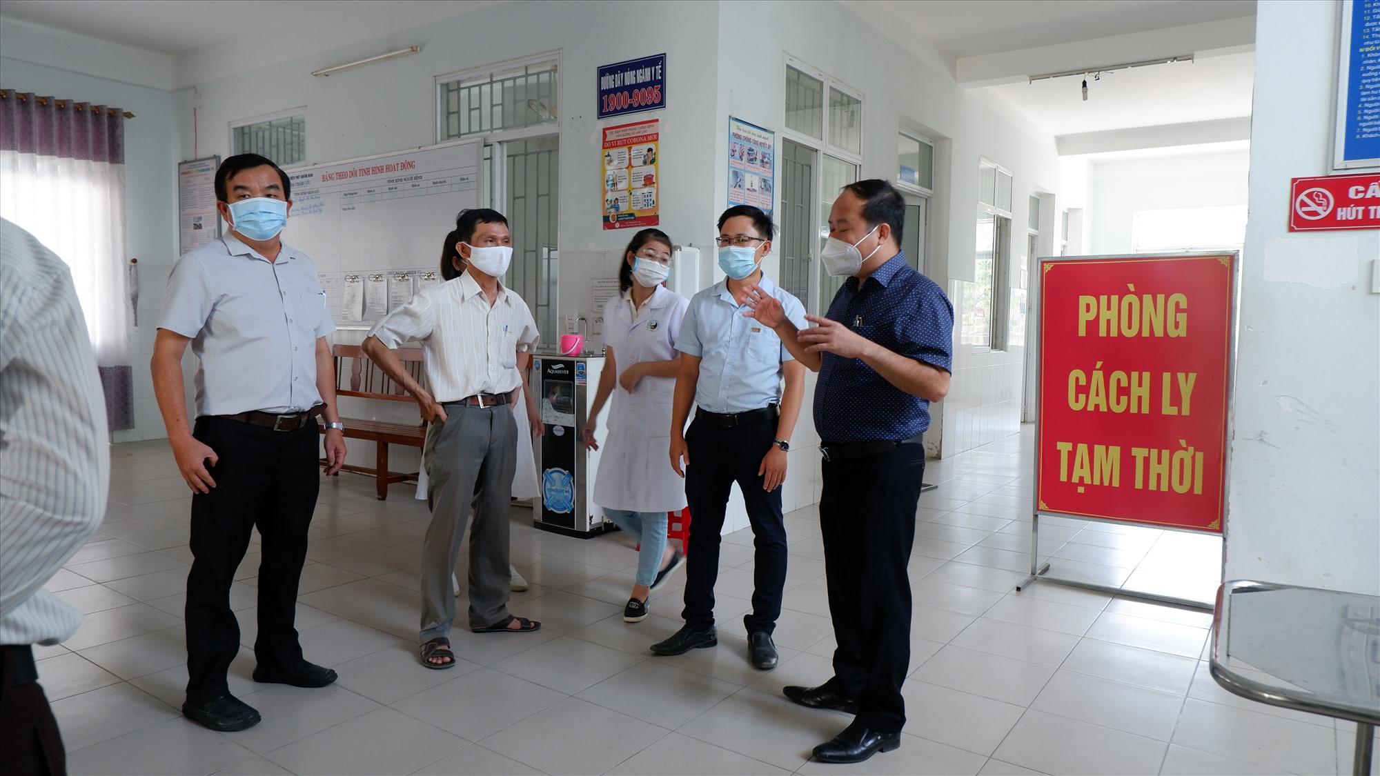 Quảng Nam hiện đã vận hành Bệnh viện dã chiến số 1. Ảnh: X.H