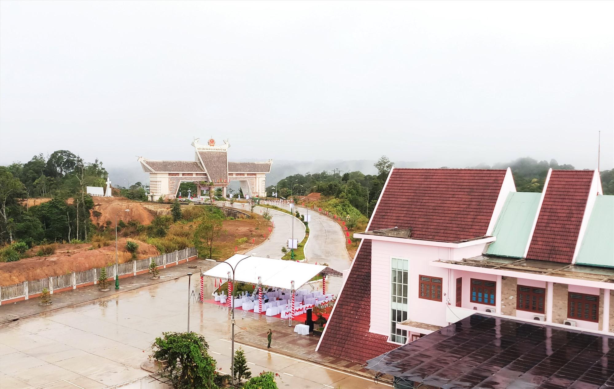 Bên cạnh giữ nguyên một số công trình cũ, việc điều chỉnh quy hoạch Khu kinh tế Cửa khẩu Nam Giang được kỳ vọng sẽ đem lại hiệu quả kinh tế cao. Ảnh: ALĂNG NGƯỚC