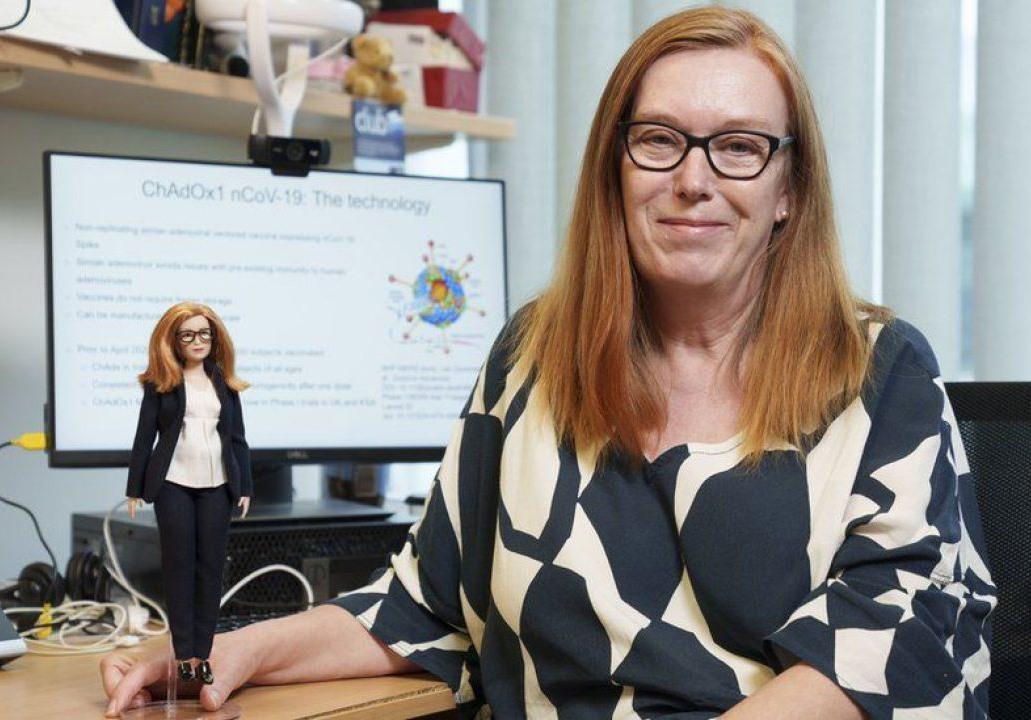 Giáo sư vắc xin Sarah Gilbert, một trong những nhà khoa học đóng góp lớn trong cuộc chiến chống Covid-19. Ảnh: PA Media