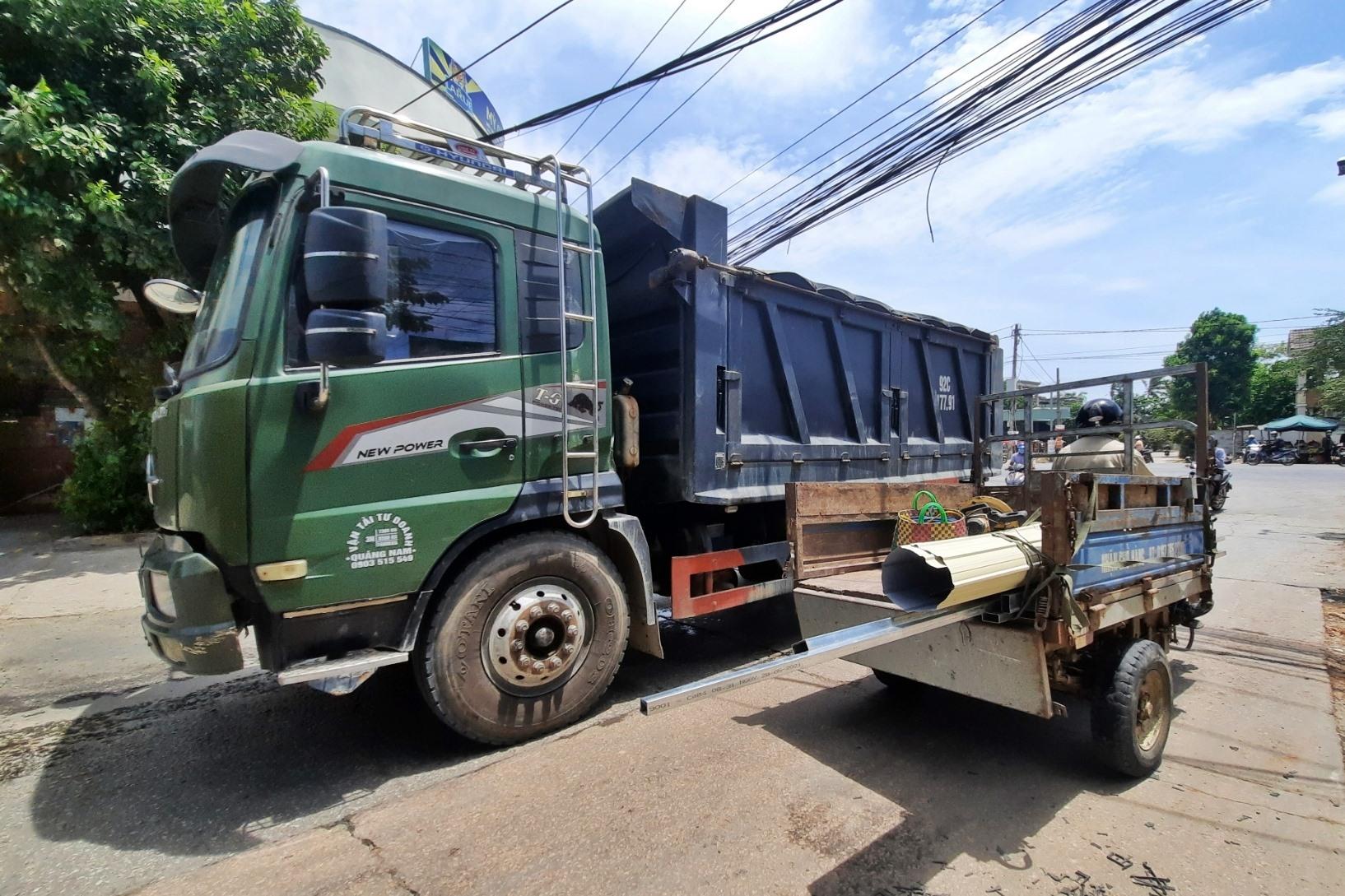 Công an huyện Phú Ninh sẽ kiên quyết xử lý các trường hợp vi phạm trật tự, ATGT. Ảnh: H.Đ