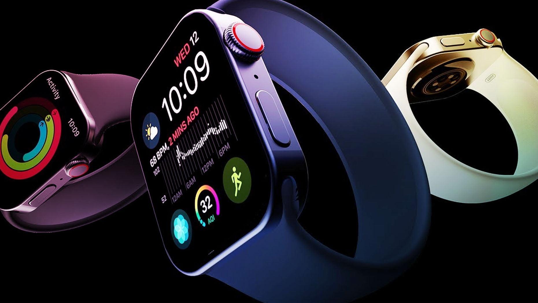 Apple Watch Series 7 có thể sẽ có các cạnh bên vuông góc. Ảnh: www.dailyresearchplot.com