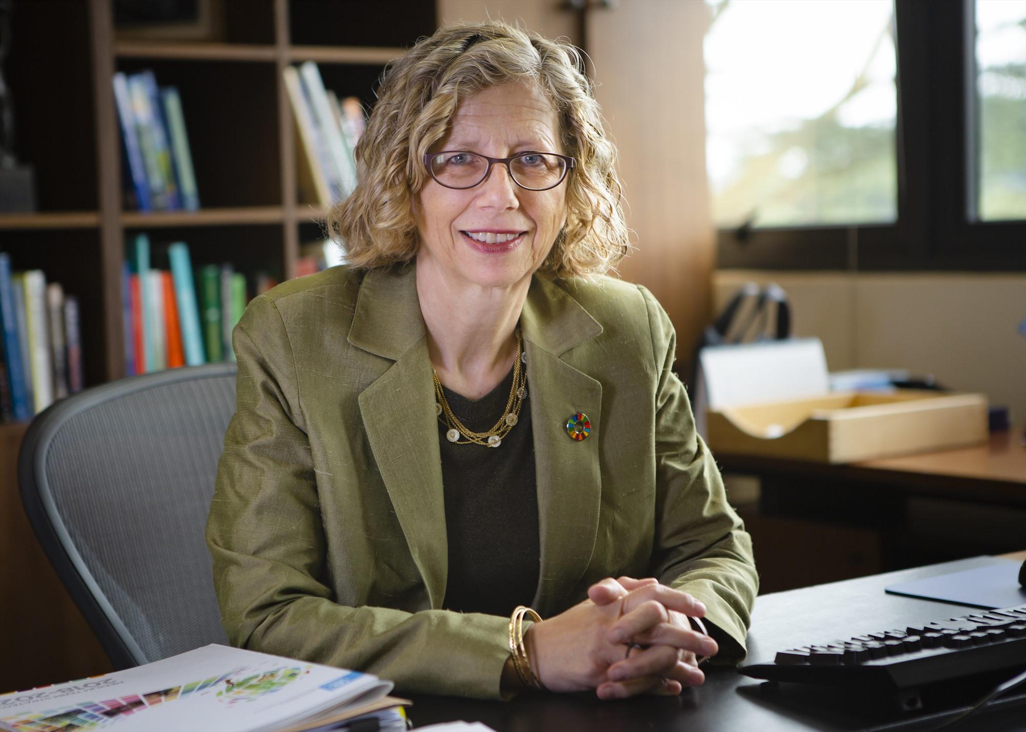 Giám đốc Chương trình Môi trường Liên hiệp quốc (UNEP) Inger Andersen.
