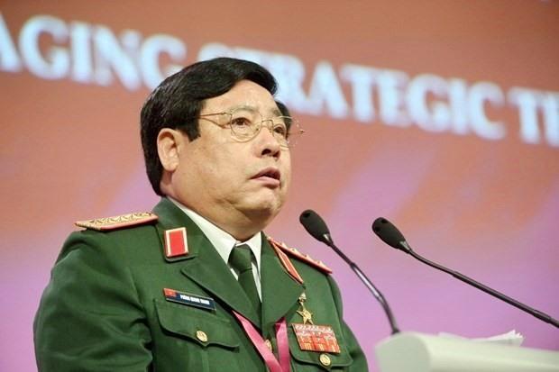 Đại tướng Phùng Quang Thanh, nguyên Ủy viên Bộ Chính trị, nguyên Bộ trưởng Bộ Quốc phòng. (Nguồn: AFP)